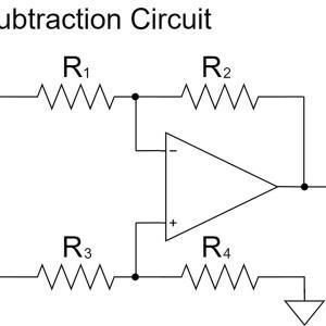 オペアンプの減算回路(差動増幅回路)