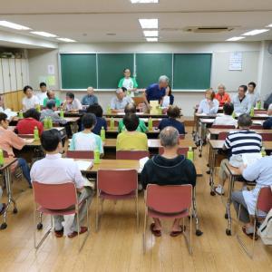 平成31年9月役員班長会議、書道教室、資料作り、麻雀教室を行いました。