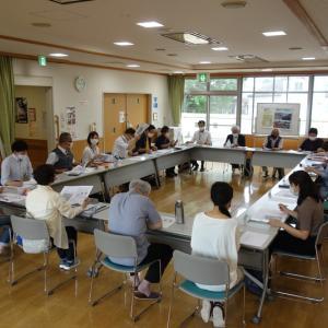 令和3年度第1回「みんなで町づくりプロジェクト」会議に出席しました。