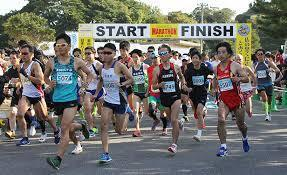 マラソンの日