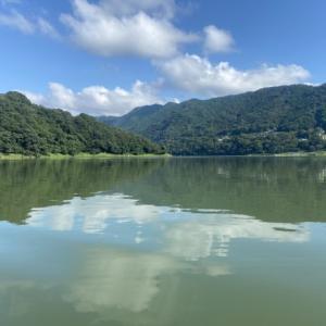 濁りが入り高活性な津久井湖でした