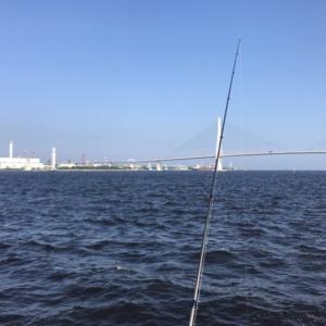 横浜方面にアジを釣りに行ってきました