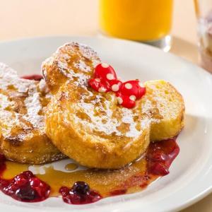 おうちで作ろう!ミッキーのフレンチトースト