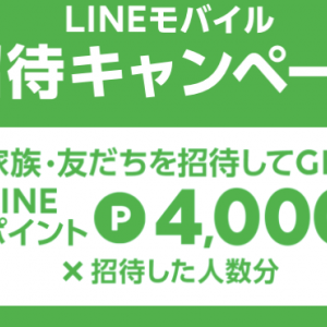 LINEモバイルがお得なキャンペーン開催 LINEPay残高に交換できるLINEポイントがもらえるキャンペーンも実施⑵