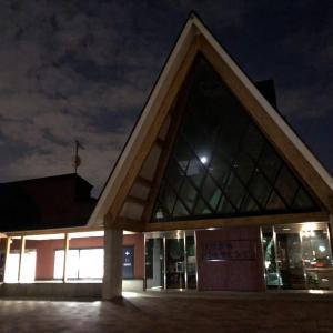 北海道当別町の道の駅「北欧の風とうべつ」で春の車中泊