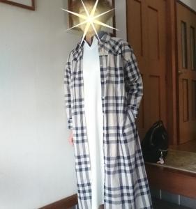 シャツワンピースを着て大學病院の定期検査へ行ってきました