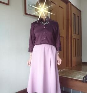 10月20日、ピンク色のスカートが履きたくなりました