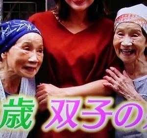 86歳の双子姉妹に元気もらって(老いて今を楽しむより)
