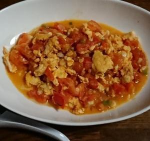 夏の終わりに作るトマト料理と秋の畑もよう
