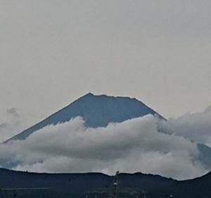 9月14日 今日の富士山です