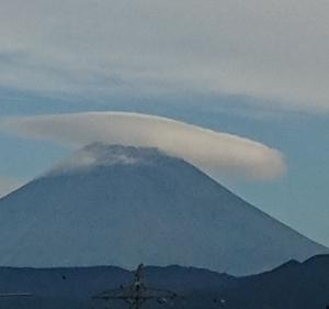 9月17日 今朝の富士山です
