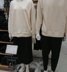 無印良品 春ファッションは白で始まります