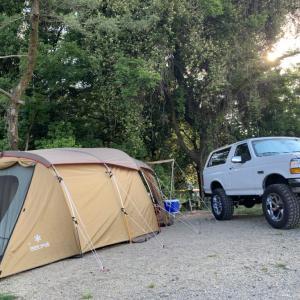 2回目の家族キャンプ【イギヤマフォレスト】