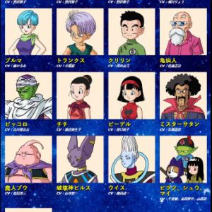 【ドラゴンボール】登場キャラクター+名前の由来③