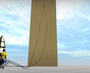 【物理エンジン】立体機動装置で本当に巨人は倒せるか(訓練)
