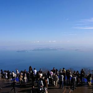 「琵琶湖テラス」で琵琶湖の絶景を見る