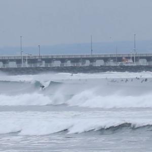 2019.10.11 8:00 湘南鵠沼の波