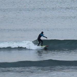 2020.1.22 7:20 湘南鵠沼の波