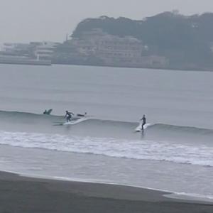 2020.1.23 7:20 湘南鵠沼の波