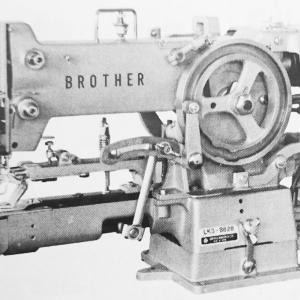 ブラザー LK3-B828:筒型本縫穴閂止ミシン