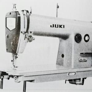 ジューキ DDL-555型:高速1本針本縫ミシン