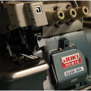 半世紀近く仕事に使った2台のジューキ工業用ミシン