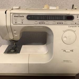 祖父母の思い出が詰まったミシン:シンガー メリット 7800