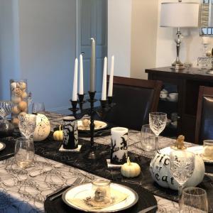 ハロウィンのテーブルコーディネートとチャクラ