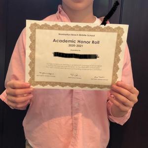 発達障害の息子が表彰されました
