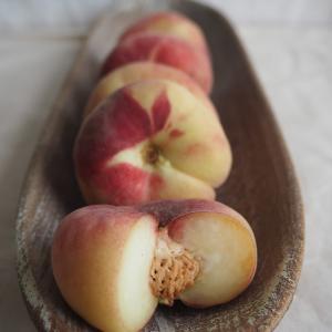 平たい桃(蟠桃)の食べ方!