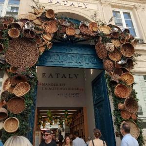【パリでイタリアを食べ尽くす新名所】 マレで食材もワインも手に入ります