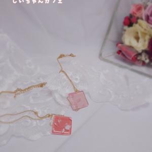 ポーセラーツ♡ガラスタイルのネックレスの販売を開始します
