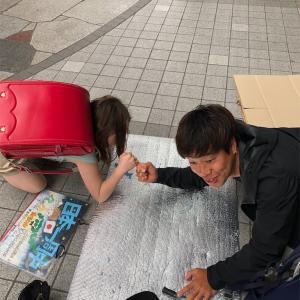 【日本一周チャリ旅】Vol.68 東北最大級の繁華街「国分町」で路上活動!やぱ楽しいわ!