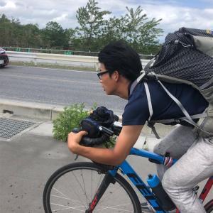 【日本一周チャリ旅】Vol.70 旅人発見!一緒に写真撮って後から気付いたが…