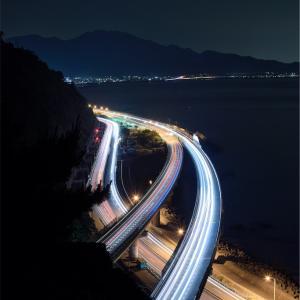 【日本一周チャリ旅】Vol.77 綺麗すぎる高速道路「薩埵峠」