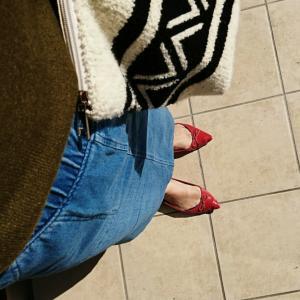 【しまパト購入品】低身長でも綺麗に履ける♡広告の品!コーデュロイワイドパンツ!!親子コーデ…♡