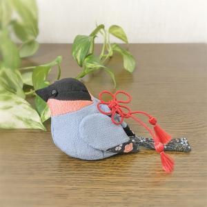 ちりめん細工 鷽鳥(うそどり)の香袋
