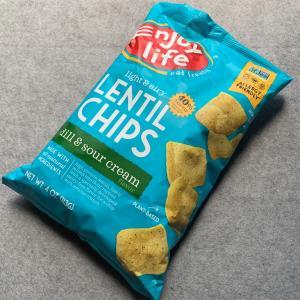 【お気に入り】iHerb Enjoy Life Foods ライト&エアリーレンズ豆チップス