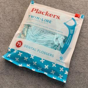 【おすすめ】iHerb Plackers Twin-Line デンタルフロス クールミント