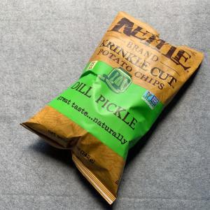 【おすすめ】Kettle Foods Krinkle カットポテトチップ ディルピクルス