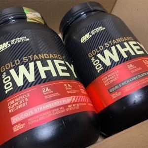 【おすすめ】Optimum Nutrition, Gold Standard 100% Whey