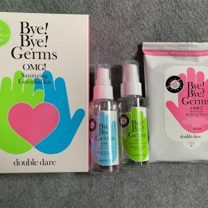 【レビュー】Double Dare, OMG!, Bye Bye Germs, Sanitizing Essential Kit,