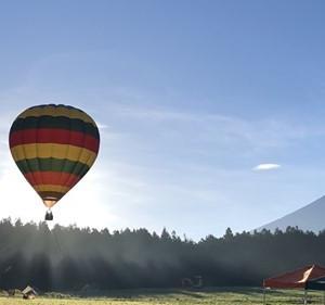 パグ犬、気球に乗る!@富士山わんわんマルシェ 告知編