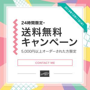 【12/11(水)1日限り】0:01より送料無料キャンペーン