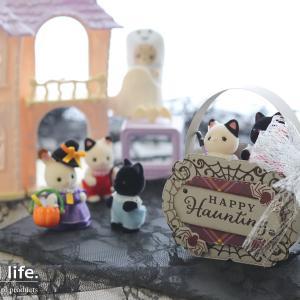 【ダイカット】小さくて、ちょいフェミニン♪ハロウィンの手提げボックス