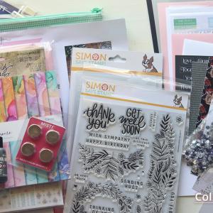 カードキットの他に、ツールやペーパーも♪Simon Says Stamp! で買ったもの