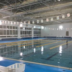 初泳ぎ&プール通い再開しました