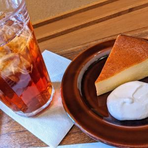 Café&Meal MUJIの本和香糖のチーズケーキ
