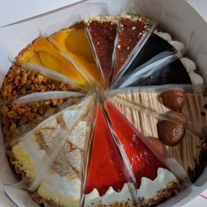 7種タルトケーキセット