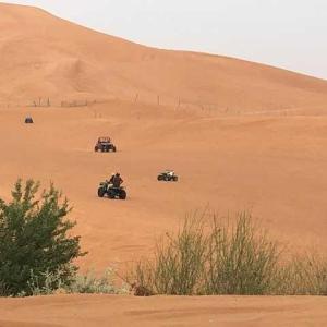 ドバイ砂漠に行く!